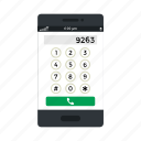 communication, dial, dial number, mobile, phone icon, • call icon