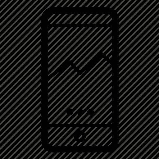 ios, mobile, slider icon