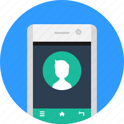 app, call, calling, contact, mobile, phone, smart icon