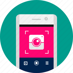 app, camera, mobile, phone, photo, photography, smart icon