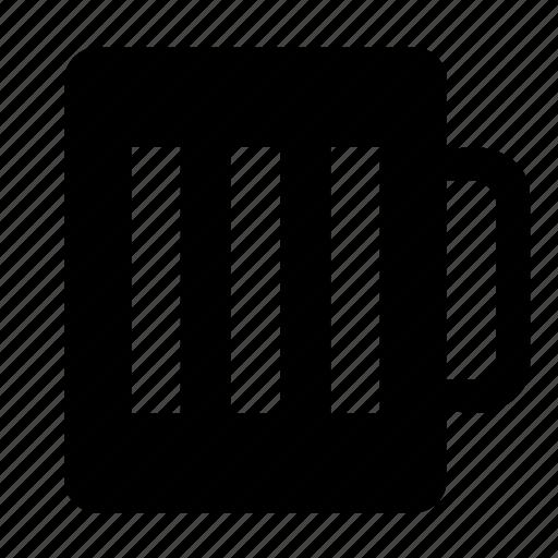 beermug, empty icon