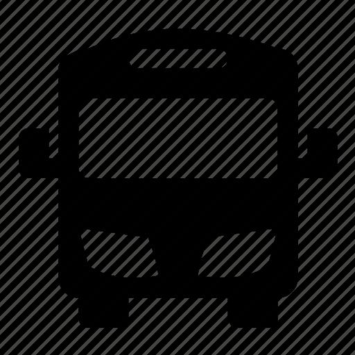 bus, modern icon