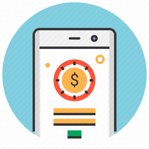 app, finance, mobile, money, payment, phone, transaction icon