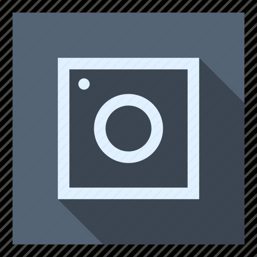 camera, photo, picture, polaroid, square, ui icon
