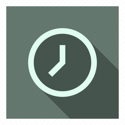 app, clock, schedule, time, ui icon
