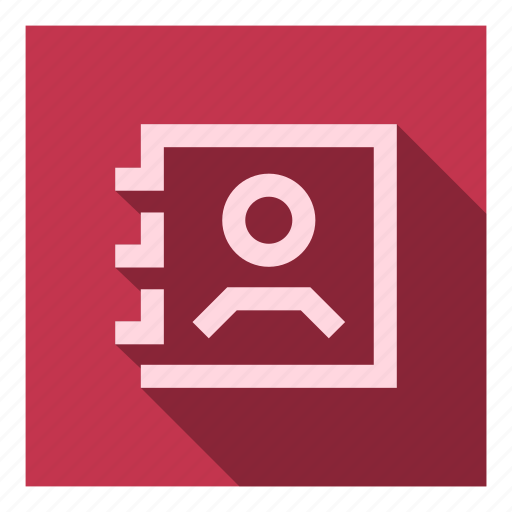 agenda, book, contact, contacts, list, phone, ui icon