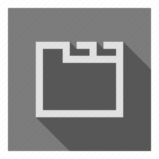 archive, directory, docs, files, folder, my, ui icon