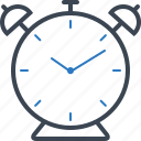 alarm, alarmclock, alert, clock icon