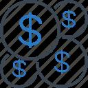 dollar, finance, money