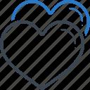 heart, love, match, profile icon