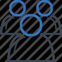community, people, team icon