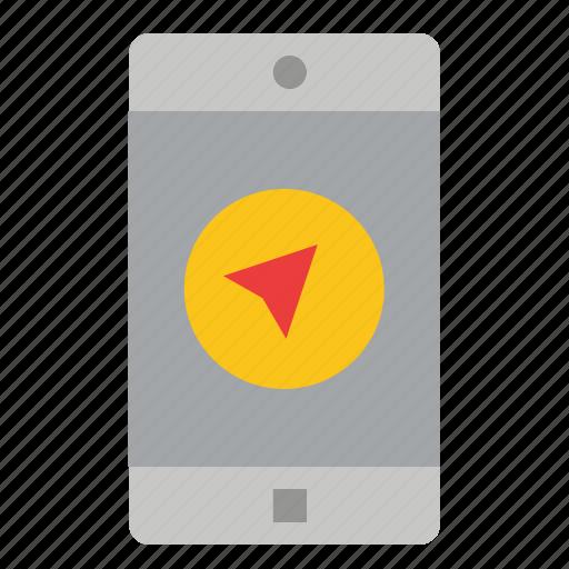 Application, apps, message, mobile, poniter icon - Download on Iconfinder