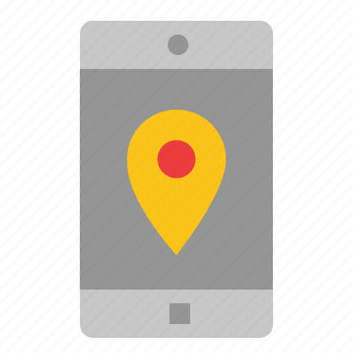 application, location, map, mobile icon