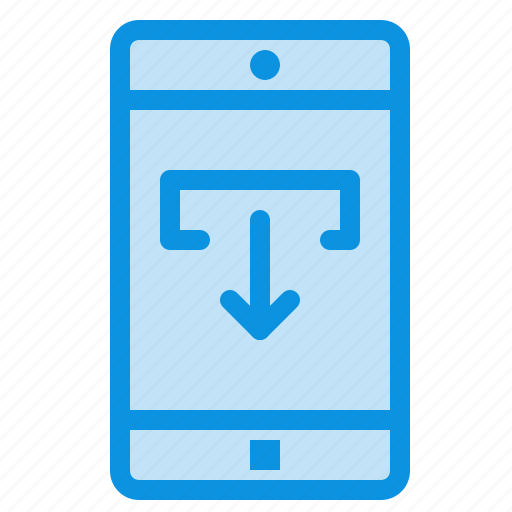application, data, download, mobile icon