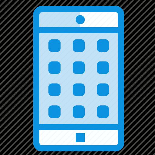 application, mobile, password icon