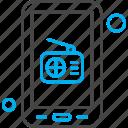 application, communication, media, mobile, radio