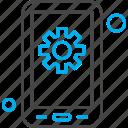 application, gear, mobile, setting, settings