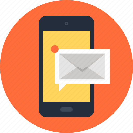 communication, connection, email, inbox, message, mobile, phone icon