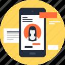 account, identity, login, mobile, phone, profile, user
