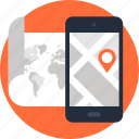 address, gps, location, map, mobile, navigation, phone