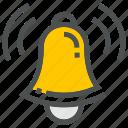 alarm, alert, bell, clock, notification, ring, time