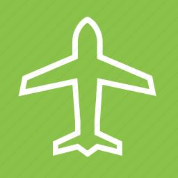 airplane, airplane mode, flight, plane icon