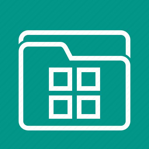 data, document, file, folder, information, management icon