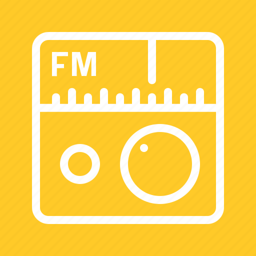 controls, fm, media, music, radio, station, tuner icon