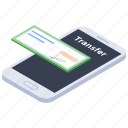 ebanking, mobile banking, online banking, online deposit, online payment icon