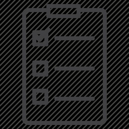 alternative, business, checklist, mobile, tasklist icon
