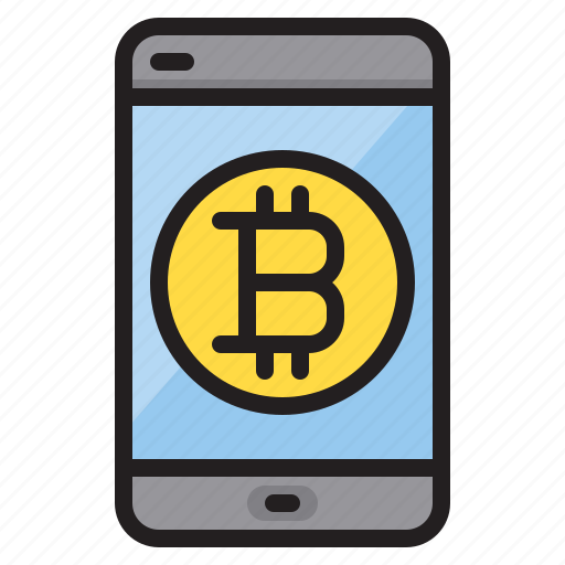 Bitcoin, mobile, computer, technology icon - Download on Iconfinder