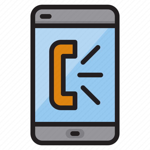mobile, phone, talk, technology icon