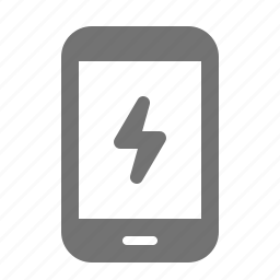 charge, device, energy, lightning, mobile, power, tablet icon