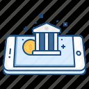 bank, coin, concept, finance, income, mobile, money