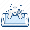 cncept, game, mobile, play, playstation, remote, wireless icon
