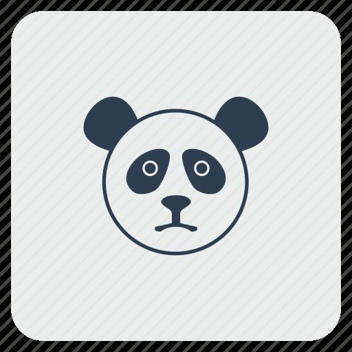 avatar, face, head, lazy, panda icon