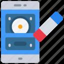 data, emm, erase, mdm, mobile, uem icon