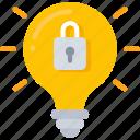 emm, intelligent, lightbulb, mdm, security, uem icon