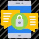emm, mdm, message, mobile, security, uem icon