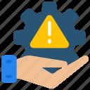 emm, management, mdm, risk, settings, uem icon