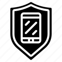 emm, mdm, mobile, security, shield, uem icon