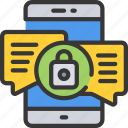 emm, mdm, message, mobile, security, uem icon