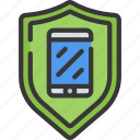 emm, mdm, mobile, security, shield, uem icon
