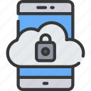 cloud, emm, iphone, mdm, secure, uem icon