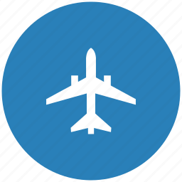 air, airbus, airplane, form, transport icon