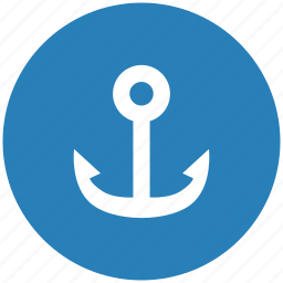 anchor, form, marine, salor icon