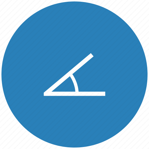 angle, form, instrument, measure, tool icon