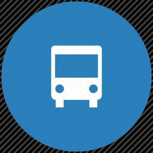 bus, city, form, transport, travel icon