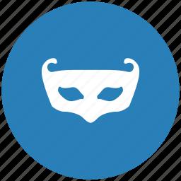 carnaval, face, form, mask, secret icon