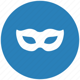 carnaval, form, lady, mask icon